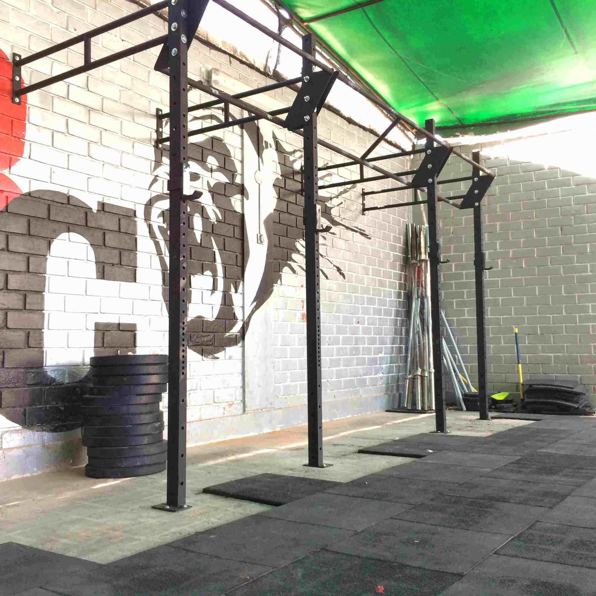 rack crossfit 3 estaciones